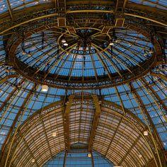 Ceiling at Grand Palais by erikomoket, via Flickr