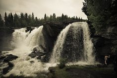 Ristafallet i Åre, Jämtland Lappland, Fly Fishing, Niagara Falls, Stained Glass, Waterfall, Online Tests, Making Tools, Travel, Outdoor