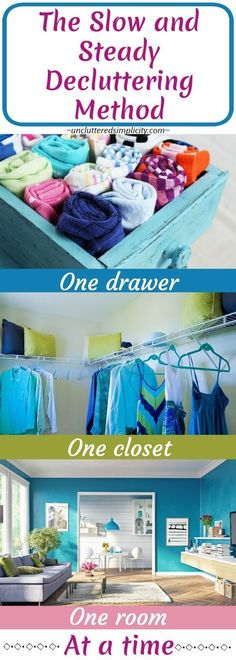 how to declutter | declutter and organize your home | decluttering methods |