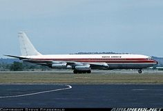The first Kenya Airways flight arriving in Mombasa from Nairobi in 1977