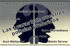 Las ¿caras? de nuestros policías literarios preferidos - https://www.actualidadliteratura.com/caras-policias-literarios/