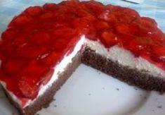 Jahodové řezy Sandra Cheesecake, Pie, Sweets, Meat, Desserts, Food, Cakes, Torte, Tailgate Desserts
