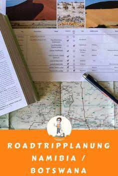 Planung eines Roadtrips durch Namibia / Botswana