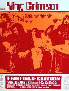King Crimson - Fairfield, Croydon, UK 1971