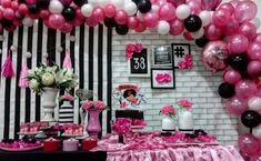 Debut Ideas, Moana, Ideas Para, 50th, Birthday Parties, Birthdays, Table Settings, Floral, Party