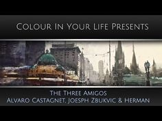 Greatest Watercolour Show in the World - The Three Amigos | Colour In Your Life - YouTube