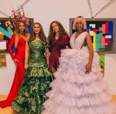 Beyonce, Tina Knowles, Solange Knowles, and Kelly Rowland