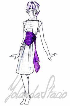 #DiseñoDeModa para una #invitada que busca diferenciarse con #EstiloPropio. Atelier SomeoneSpecial by Yolanda Stacio