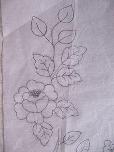 schema haciendo-bordados-de-flores-pespunte