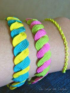 Rick-Rack Bracelets