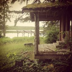 By Chris Fraser - Abandoned cabin. Great Bear Rainforest, British Columbia, Canada. Instagram: Chriscfr