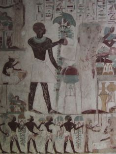 Tomb Art From Ancient Egypt: A Black African Civilization (pics) - Politics - Nigeria