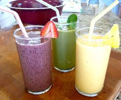These super smoothies are a great way to get loads of beneficial goodies into your kids - from The Nourishing Home