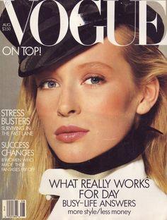 Estelle Lefébure by Richard Avedon Vogue US August 1987