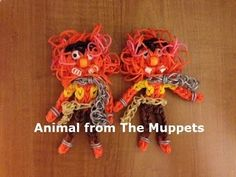 Rainbow Loom Animal or Monster from The Muppets - Original Design - YouTube