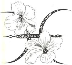 hibiscus flower tattoo designs for women | ... Designi want to be On sugar skull tattoo design gallery Inspired inmar