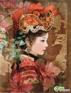 イ族 イ族は中国西部の古羌の子孫である。古羌は、チベット族、納西族、羌族の先祖でもあるといわれる。