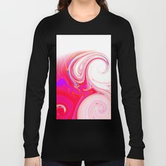 Re-Created  Tsunami SEVEN Long Sleeve T-shirts by Robert S. Lee - $28.00