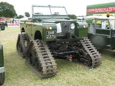 Tracked Land Rover _