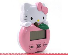 cute kawaii stuff - Hello Kitty Kitchen Timer
