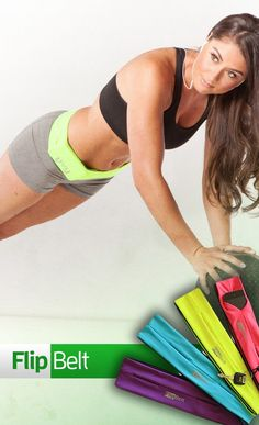 Holds phones, cards, keys, and more, while you workout! | FlipBelt