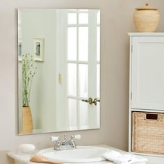 Decorating ideas for bathroom mirrors