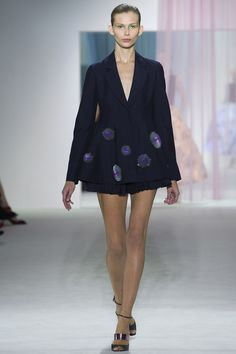 spring 2013 ready to wear christian dior monika sawicka (nathalie) model #fashion detailed blazer