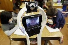 My classmate, the robot: New York student attends remotely
