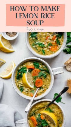Healthy Soup Recipes, Vegan Dinner Recipes, Vegan Dinners, Vegetarian Recipes, Cooking Recipes, Vegetarian Kale Soup, Simple Soup Recipes, Healthy Winter Recipes, Brothy Soup Recipes