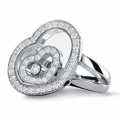 Designer Diamond Jewelry - Chopard Diamond Ring Design