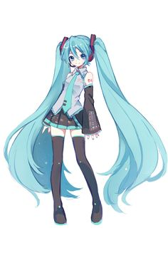 Vocaloid Characters, Fanarts Anime, Manga Anime, Anime Art, Manga Girl, Miku Chibi, Dibujos Cute, Image Manga, Kawaii Anime Girl