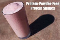 Yep. It's entirely possible to create some super tasty, protein packed, protein powder free, shakes. I'll admit — I'm not a big fan of protein powder. Many taste horrible, are super expensive, contain a ton of junk ingredients, or any combination thereof. Personally, I use protein powder as a last resort. It's something I have …