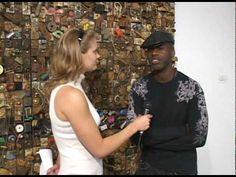Blaffer Gallery interview with Leonardo Drew - YouTube