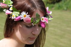 lily's wild flower circlet