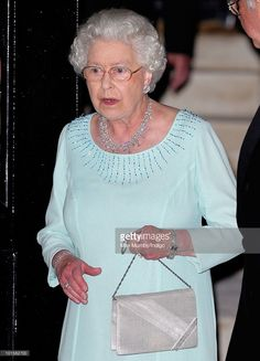 HM Queen Elizabeth II attends King Constantine of Greece's 70th birthday party at Crown Prince Pavlos of Greece's residence on June 2, 2010 in London, England.