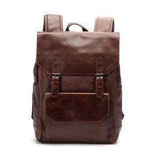 Luxury Designer's Leather Backpack
