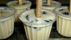 Paletas congeladas de Galleta Oreo ¡Cremositas!