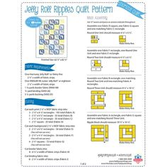 Looking for free quilt patterns and tutorials for beginners to inspire you and help you get started? Choose from hundreds of different free patterns from Fat Quarter Shop. Browse our most recent patterns today! Quilting For Beginners, Quilting Tutorials, Quilting Projects, Quilting Ideas, Sewing Projects, Jelly Roll Quilt Patterns, Quilt Block Patterns, Quilt Blocks, Hexagon Quilt