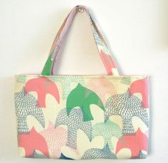 Bridesmaid tote bag set of 2 bird tote bag bird by malmokkobags, $25.00