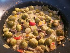Brussels sprouts slow cooker - A delicious, easy recipe for Brussels sprouts - Brussels sprouts slow cooker – A delicious, easy recipe for Brussels sprouts - Slow Cooker Recepies, Healthy Slow Cooker, Healthy Crockpot Recipes, Cooking Recipes, Healthy Meals For Two, Healthy Dishes, Easy Meals, Bistro Food, Slow Food