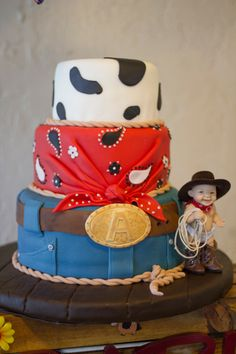 Western Theme Cake - western cowboy cake by Cake Outside the Box  http://www.facebook.com/cakeoutsidetheboxmiami