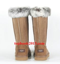 UGG Classic Tall Boots 5815 Wholesale Fox Fur Online