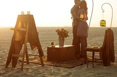 Cute beach proposal by www.tylerbranchphoto.com