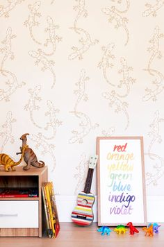 After some stunning new wallpaper ideas for kids rooms? Look no further than the new Offspring Collection from Porters Paints. Kids Room Wallpaper, Painting Wallpaper, New Wallpaper, Art Wall Kids, Nursery Wall Art, Nursery Decor, Kids Armchair, Handmade Wallpaper, Kids Bedroom Furniture