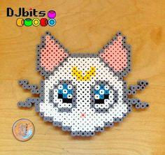 Artemis Cat Sailor Moon Perler Bead by DJbits