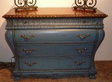 Jasper Cabinet Co. French Blue Bombay Chest