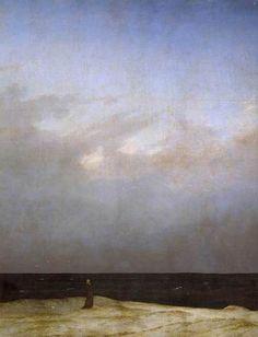 Caspar David Friedrich Monkby the Sea