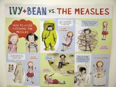 Ivy + Bean vs. The Measles