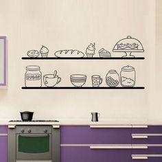 Adesivi da parete Kitchen Shelves Wall Sticker https://www.adesiviamo.it/prodotto/1236/Adesivi-da-parete/Adesivi-da-parete/Kitchen-Shelves-Wall-Sticker-Adesivo-da-Muro.html