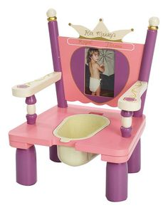 """Her Majesty's Royal Throne"" potty chair"
